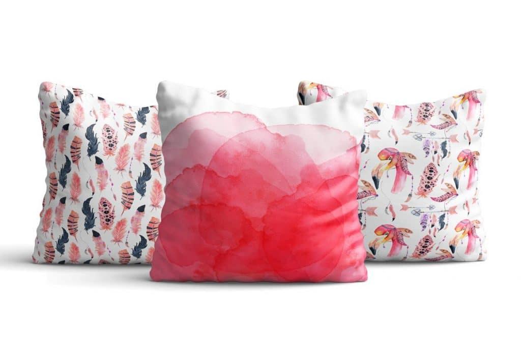 Boho Flamingo Watercolor Set - cover 6