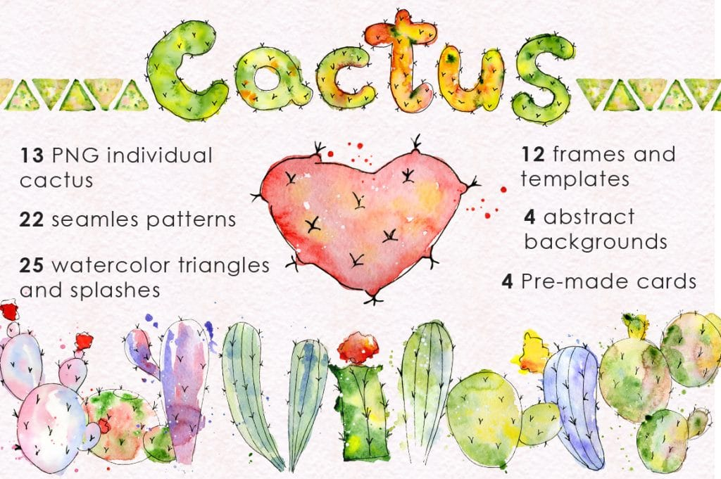 240+ Cactus Clipart 2021: Free and Premium Collections - cover good