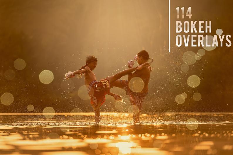114 Bokeh Photo Overlays