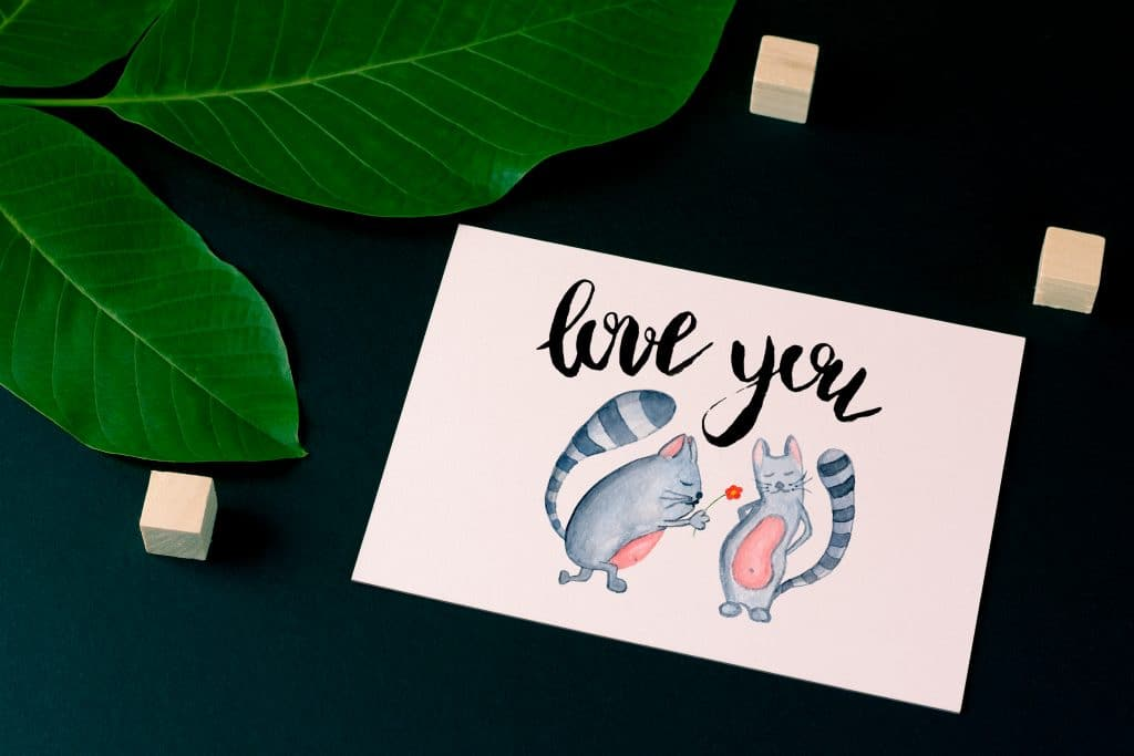 Valentine's Day Postcards: Do not Forget about a Heartfelt Postcard for Your Valentine - postcard mockup s3