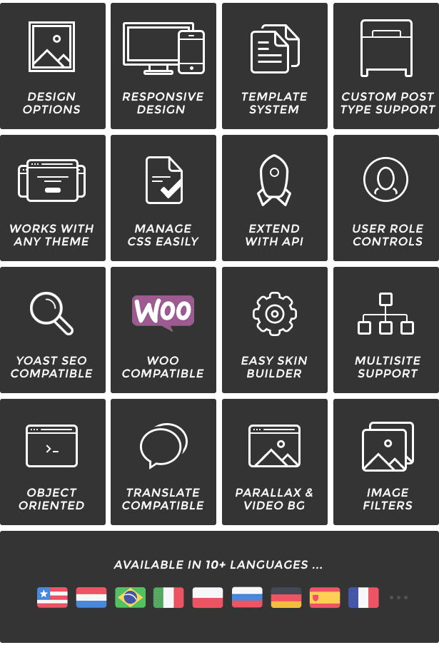 15 WordPress Themes Black Friday Bundle - rare features pzEAj