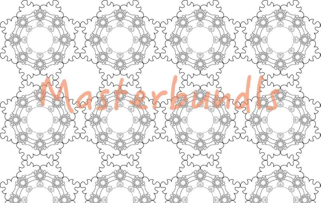 Mandala Designs: 10 Awesome Black&White Mandala Patterns