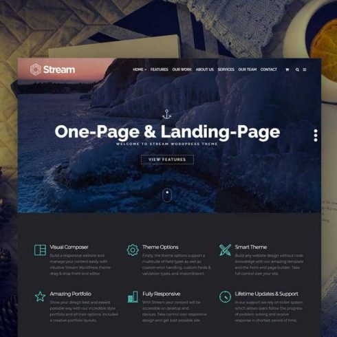 Stream WordPress Theme -  $25 - 600 27 490x490