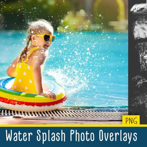 32 Water Splash Photo Addons - $8 - 600 29 490x490