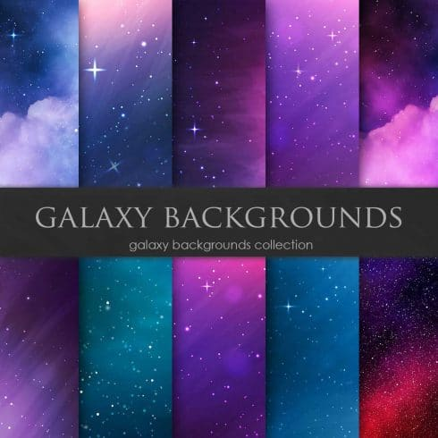Galaxy Backgrounds Collection - $4 - 600 30 490x490