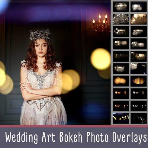 Wedding Art Bokeh Photo Overlays - $9 - 600 4 490x490