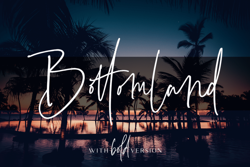 50+ Best Tropical Fonts 2021: Free and Premium 🌴 - Artboard 1