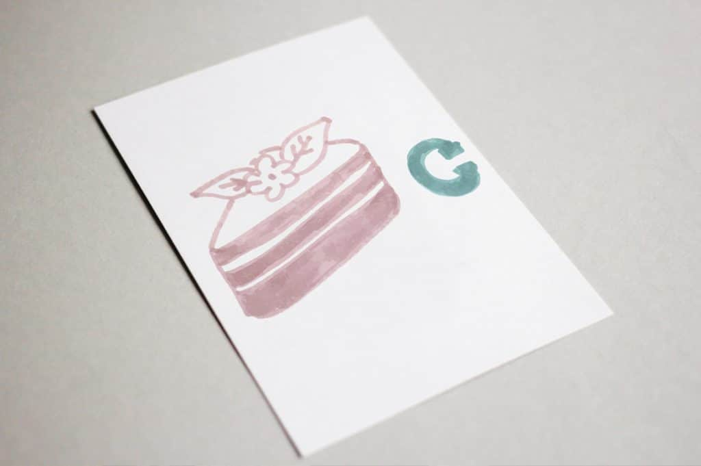 Cookery Alphabet Markers Watercolor Add-on