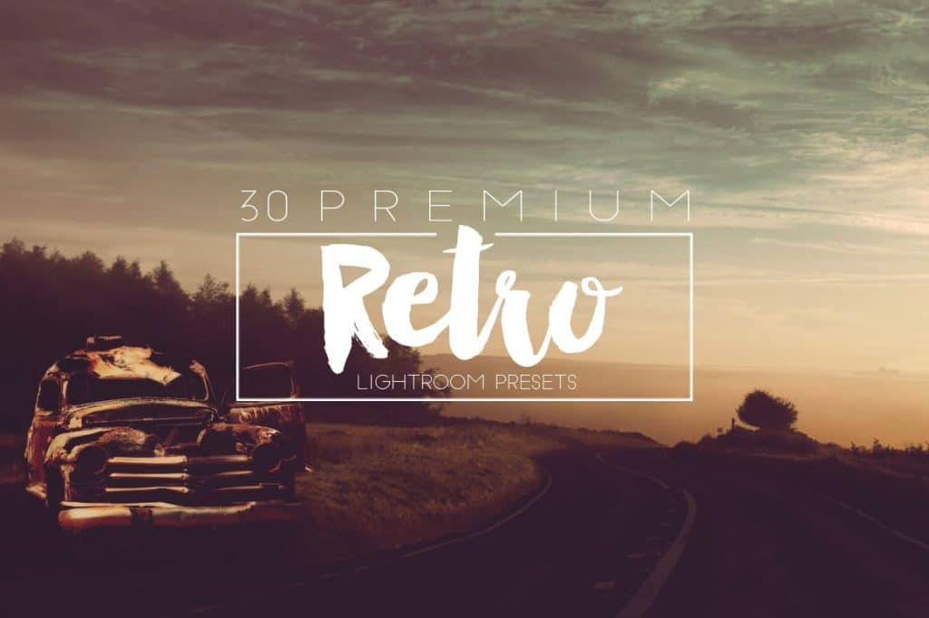 Best Selling Lightroom Presets Collection – 70% Off - Retro Lightroom Presets Design mont graphics themes fonts and more 7