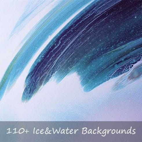 110+ Ice & Water Backgrounds - $9 - Untitled 3 1 490x490
