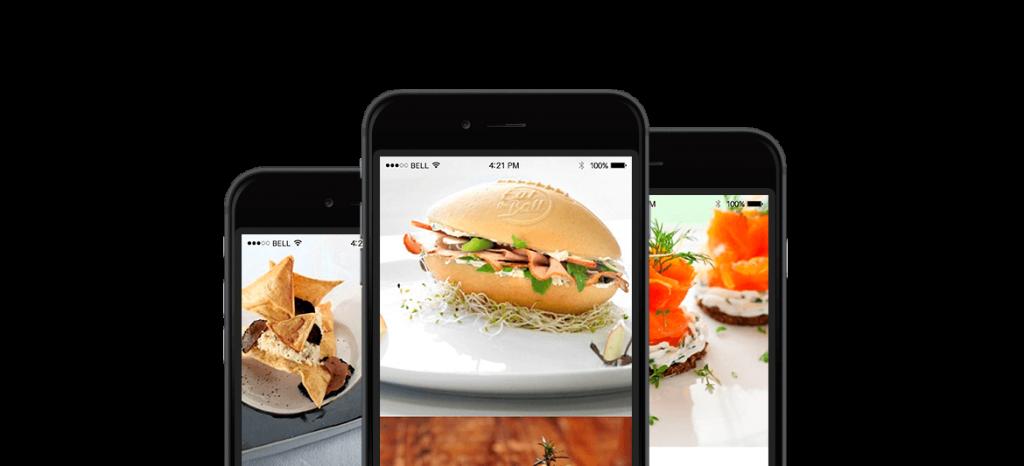 Food WordPress Theme - $25 - food wordpress theme triple iPhones black 1170x6503