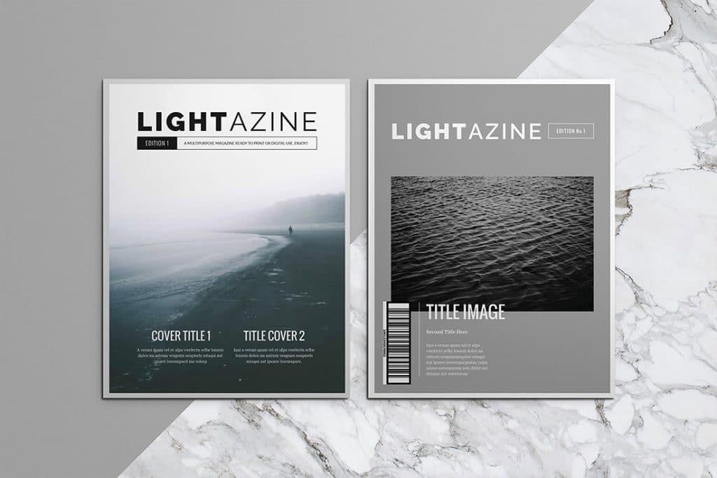 15 InDesign Magazines & Brochures - $29 - 1