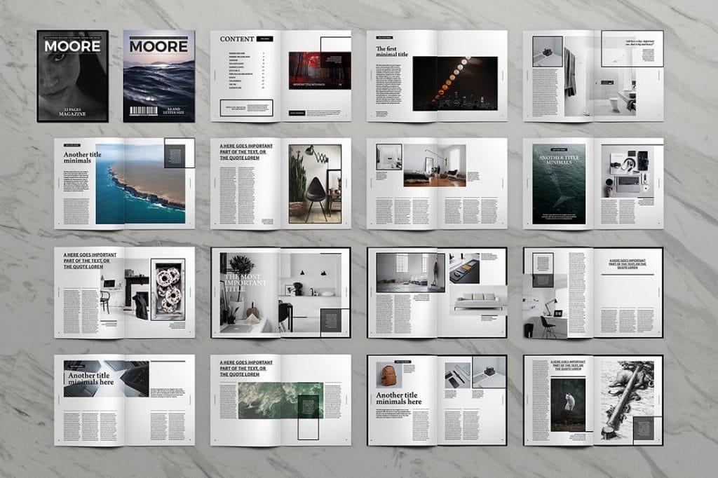 15 InDesign Magazines & Brochures - $29 - 16