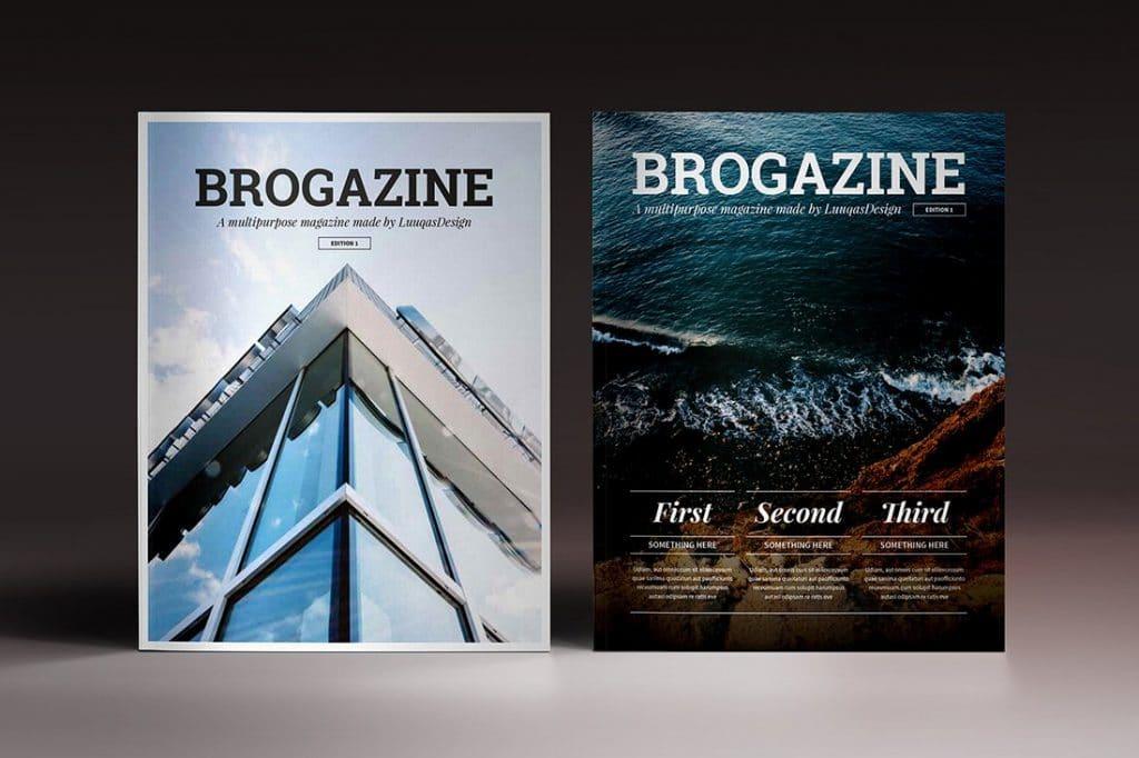 15 InDesign Magazines & Brochures - $29 - 17
