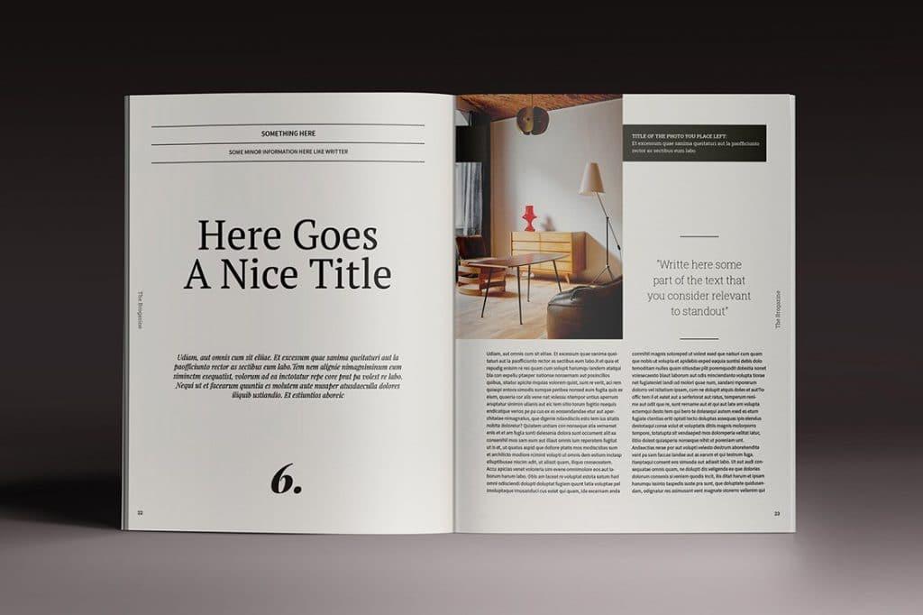 15 InDesign Magazines & Brochures - $29 - 19