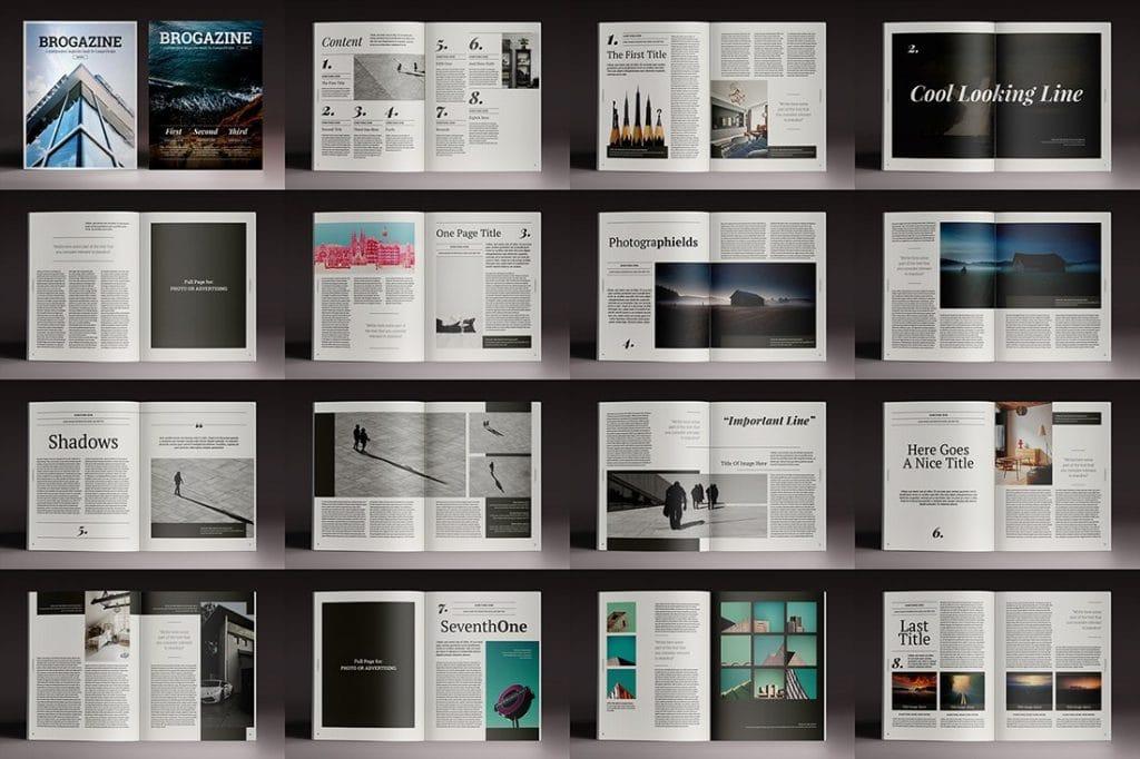 15 InDesign Magazines & Brochures - $29 - 20
