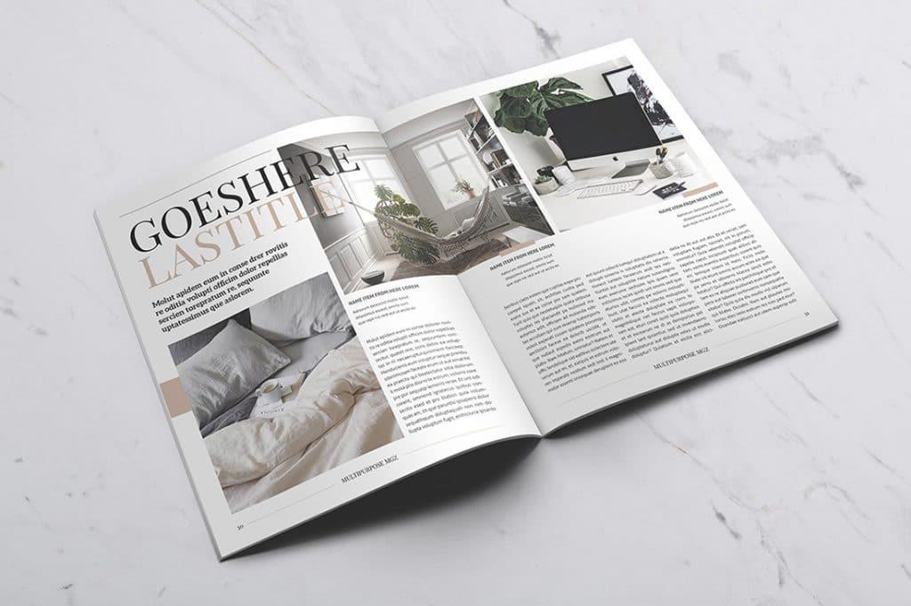 15 InDesign Magazines & Brochures - $29 - 25