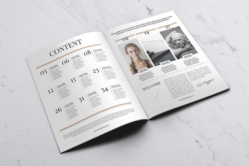 15 InDesign Magazines & Brochures - $29 - 26