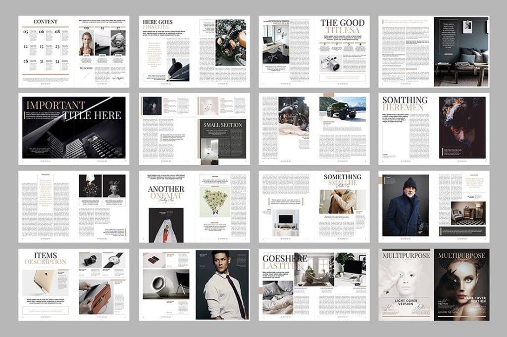 15 InDesign Magazines & Brochures - $29 - 27