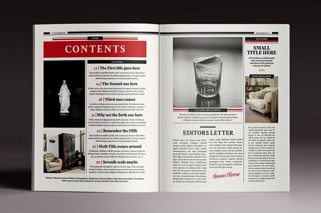 15 InDesign Magazines & Brochures - $29 - 28