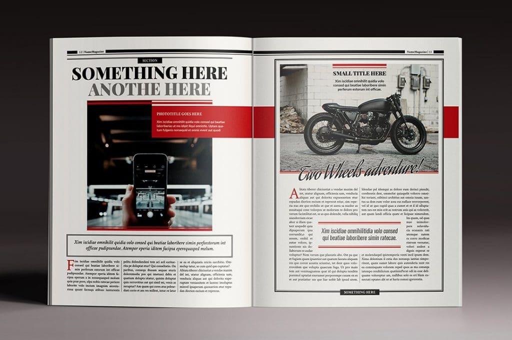 15 InDesign Magazines & Brochures - $29 - 29