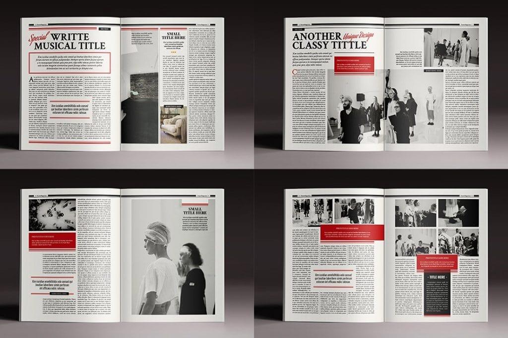 15 InDesign Magazines & Brochures - $29 - 30