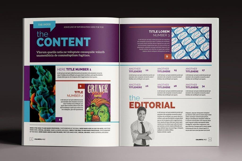 15 InDesign Magazines & Brochures - $29 - 31