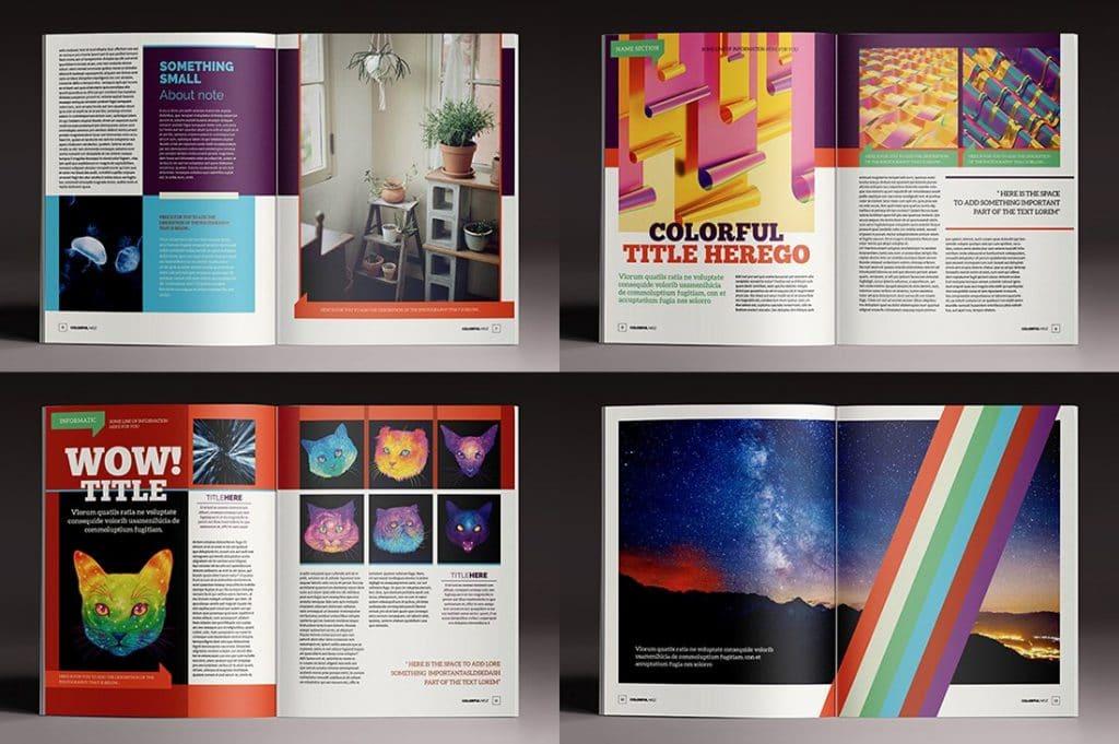 15 InDesign Magazines & Brochures - $29 - 32