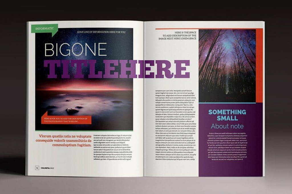 15 InDesign Magazines & Brochures - $29 - 33