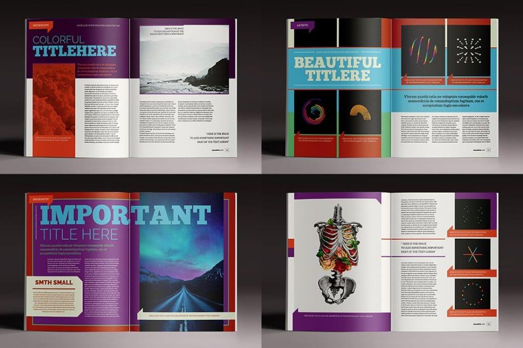 15 InDesign Magazines & Brochures - $29 - 34