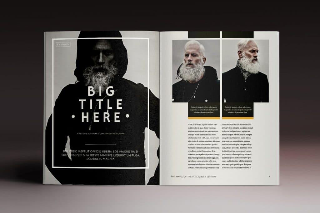 15 InDesign Magazines & Brochures - $29 - 36