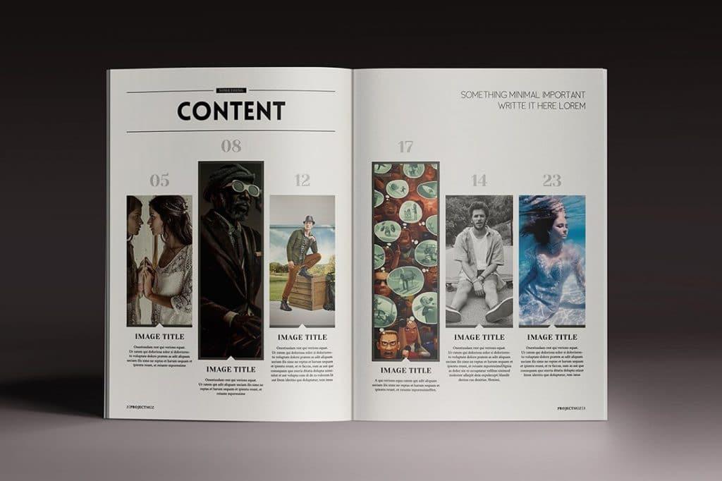 15 InDesign Magazines & Brochures - $29 - 37