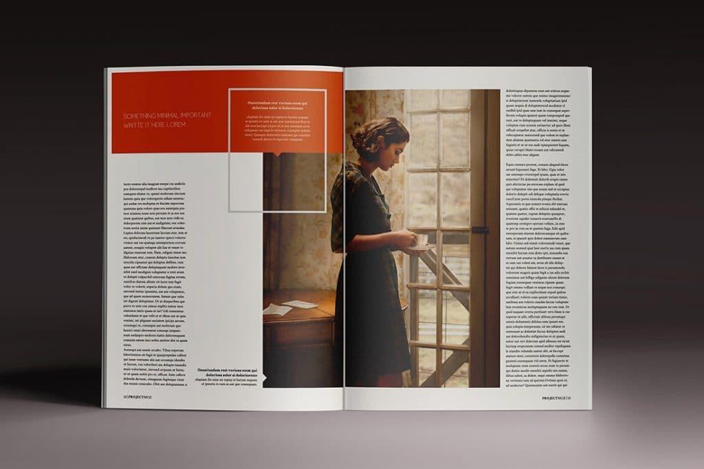 15 InDesign Magazines & Brochures - $29 - 38