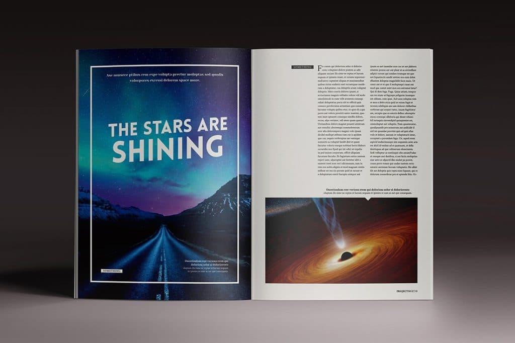 15 InDesign Magazines & Brochures - $29 - 39