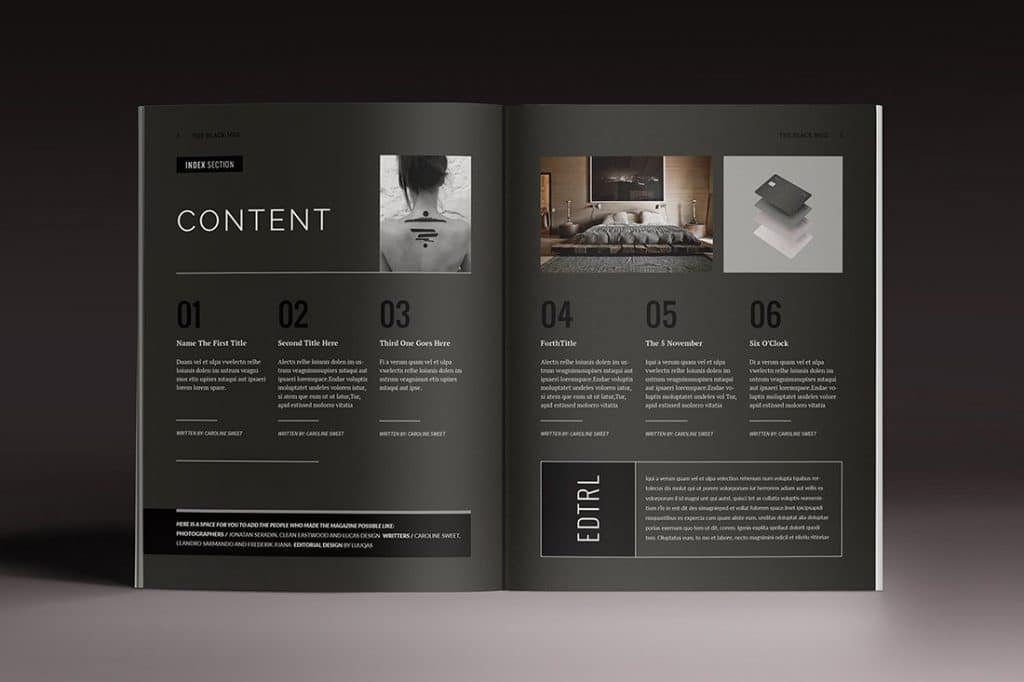 15 InDesign Magazines & Brochures - $29 - 4