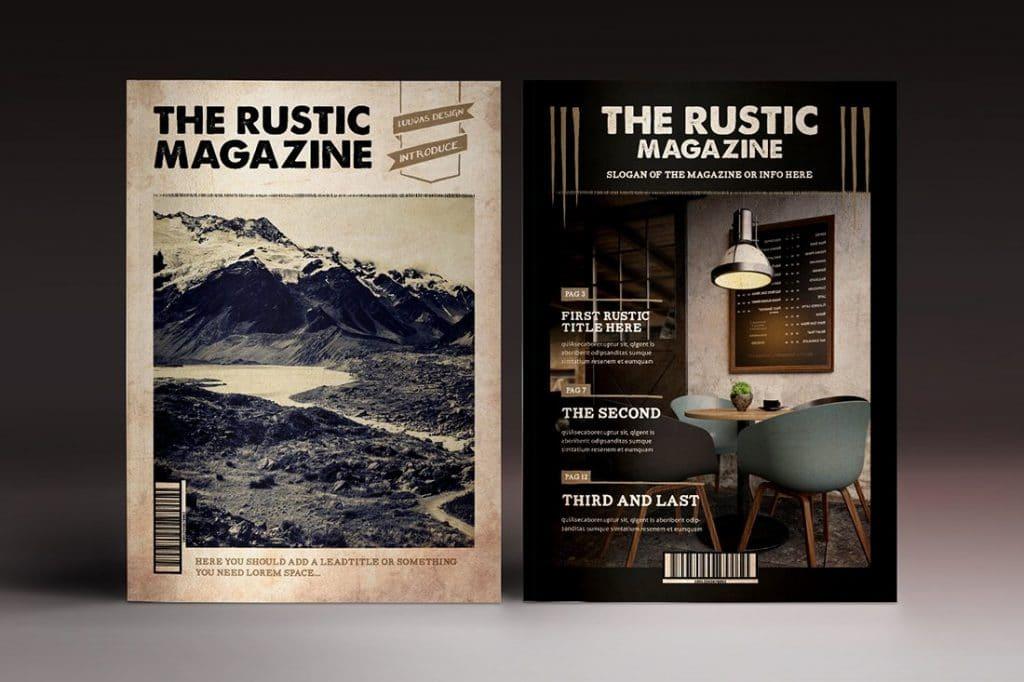 15 InDesign Magazines & Brochures - $29 - 41
