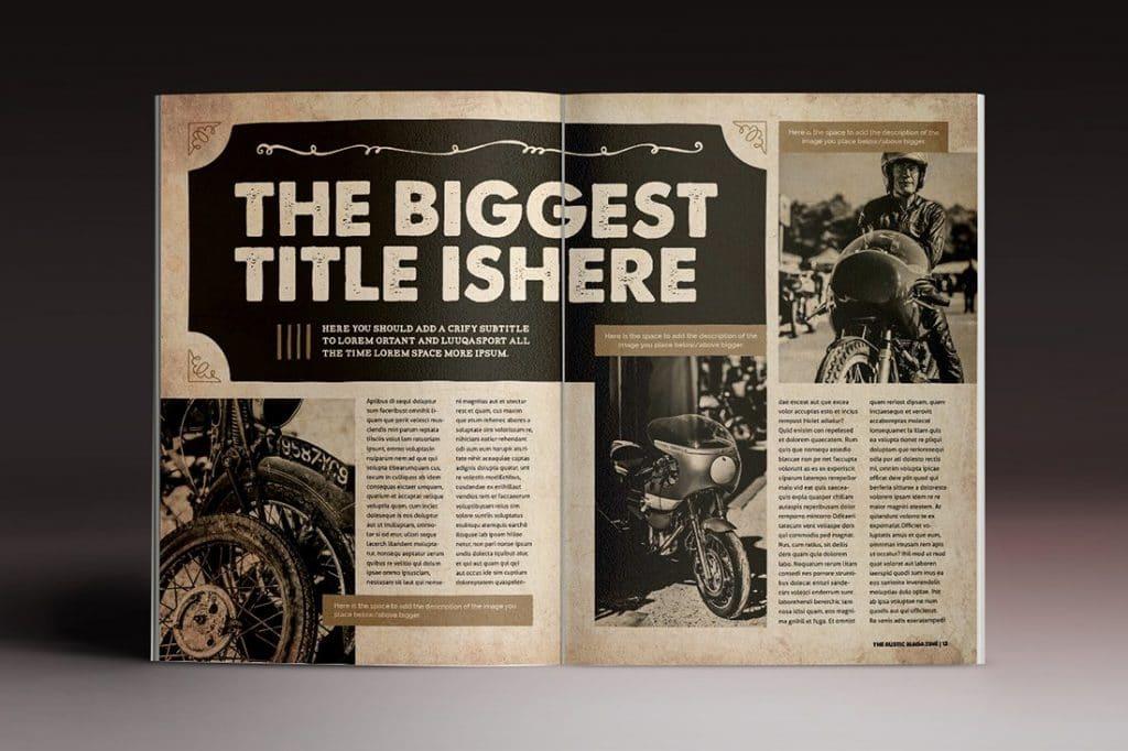 15 InDesign Magazines & Brochures - $29 - 45