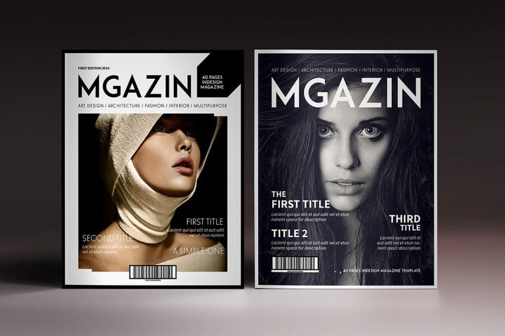 15 InDesign Magazines & Brochures - $29 - 47
