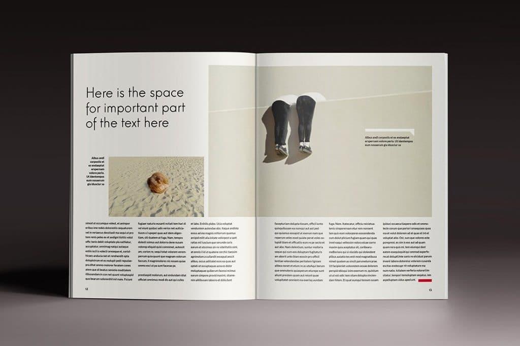 15 InDesign Magazines & Brochures - $29 - 48