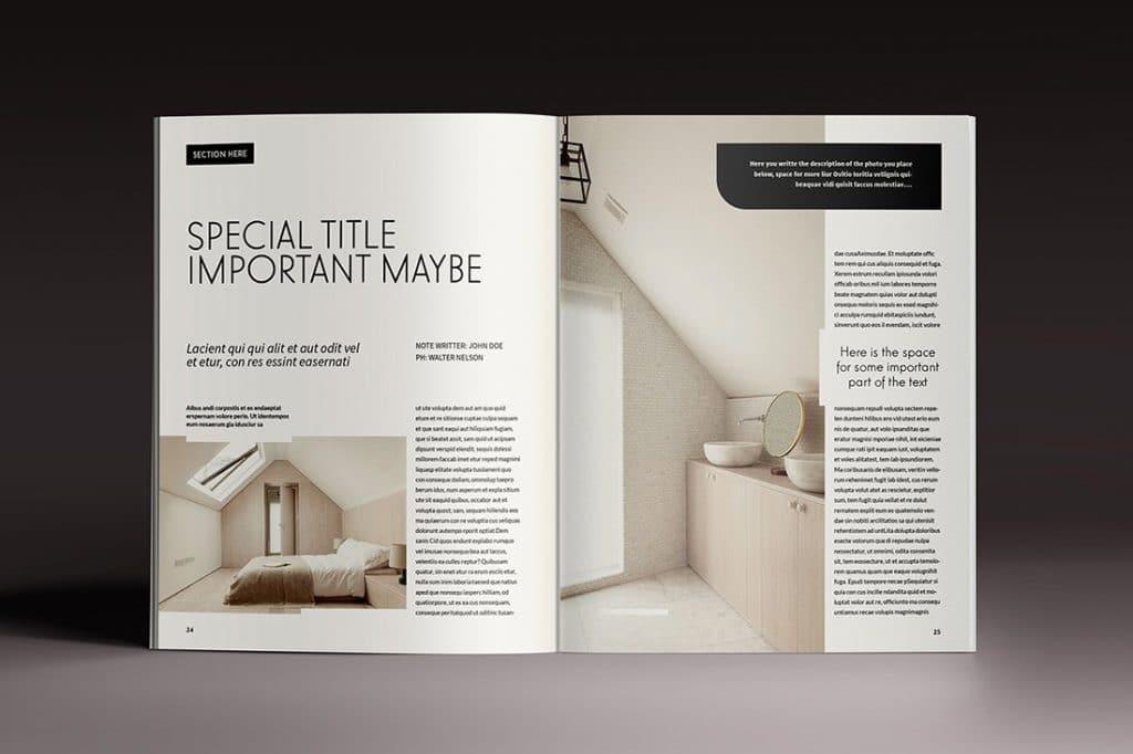15 InDesign Magazines & Brochures - $29 - 49