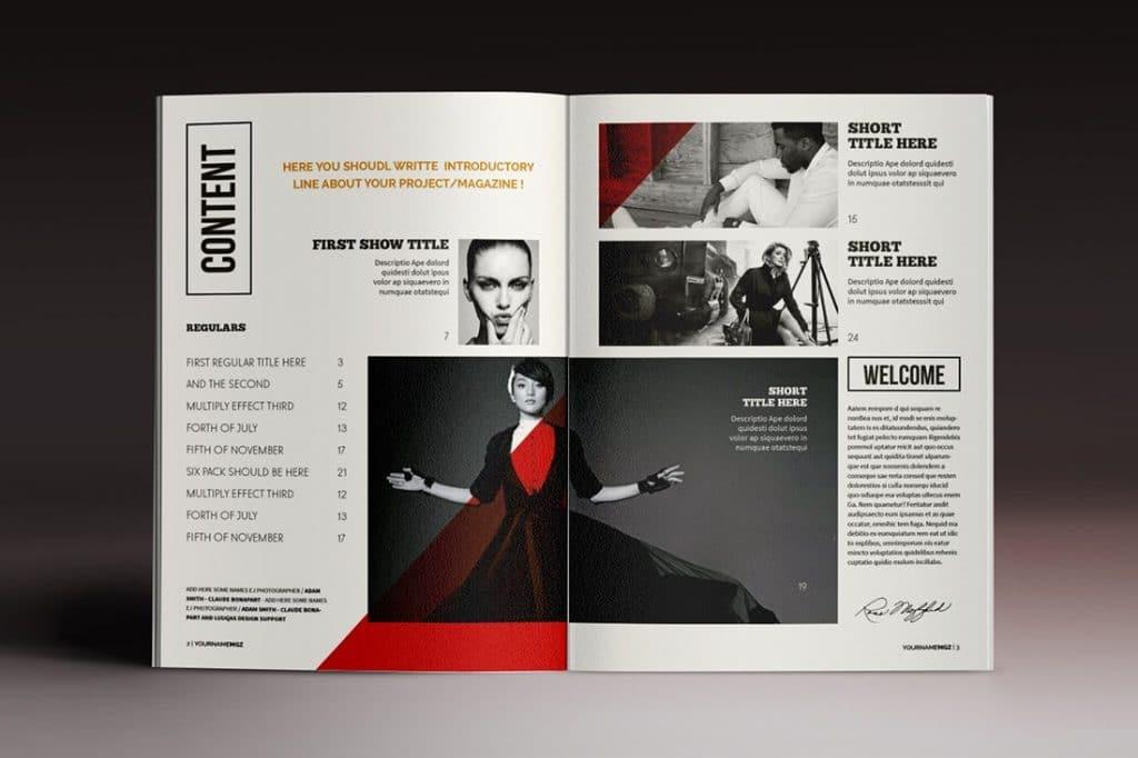 15 InDesign Magazines & Brochures - $29 - 52