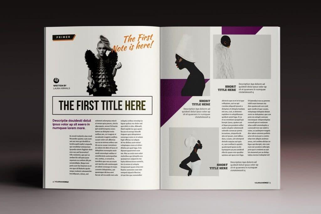 15 InDesign Magazines & Brochures - $29 - 53