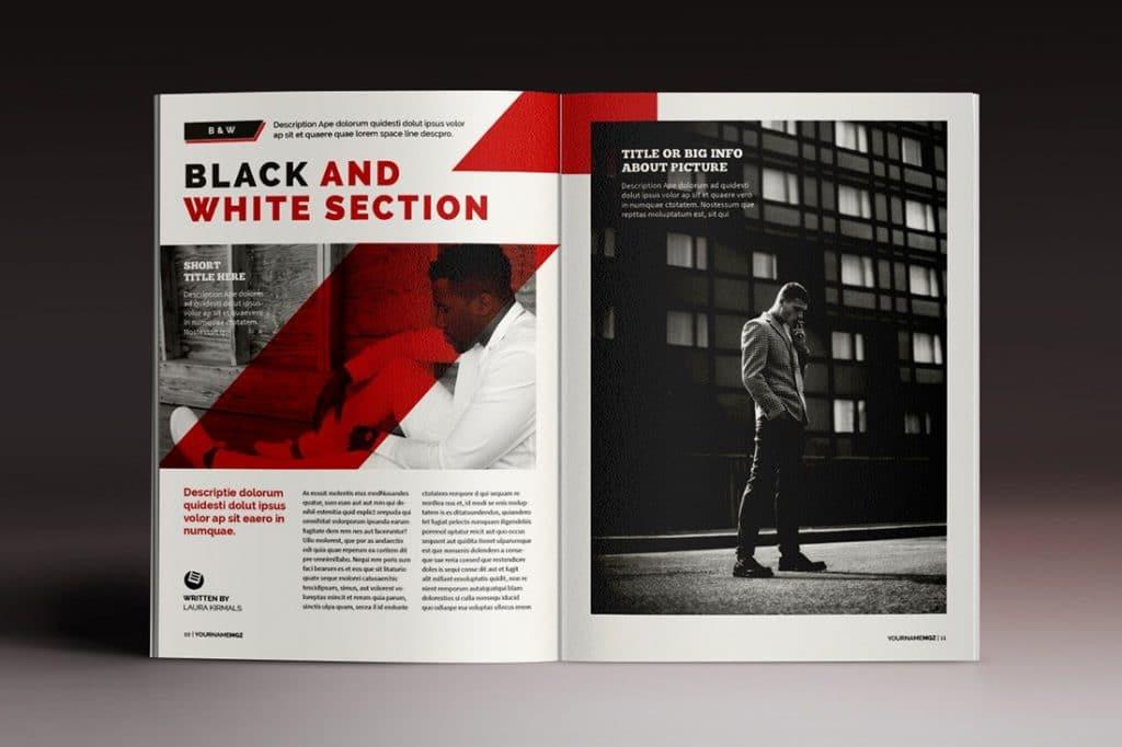 15 InDesign Magazines & Brochures - $29 - 54