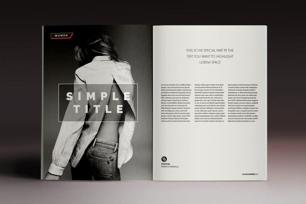 15 InDesign Magazines & Brochures - $29 - 55