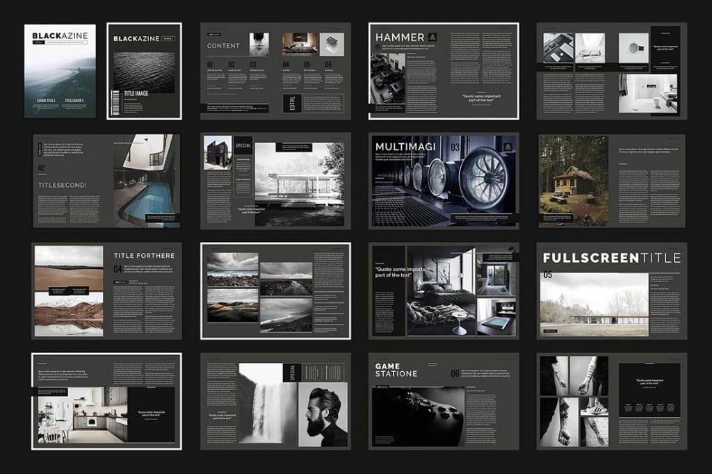 InDesign Magazines & Brochures