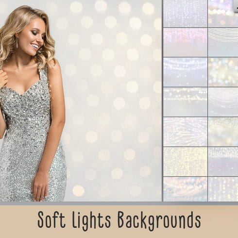 Soft Lights Backgrounds - $8 - 600 35 490x490