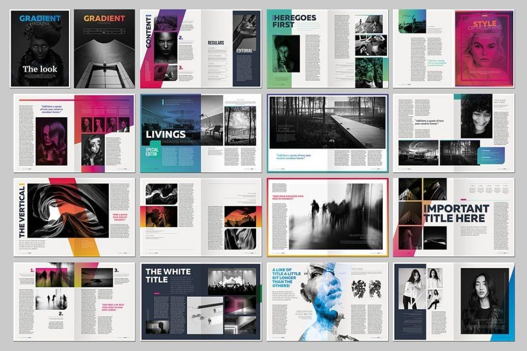 15 InDesign Magazines & Brochures - $29 - 9