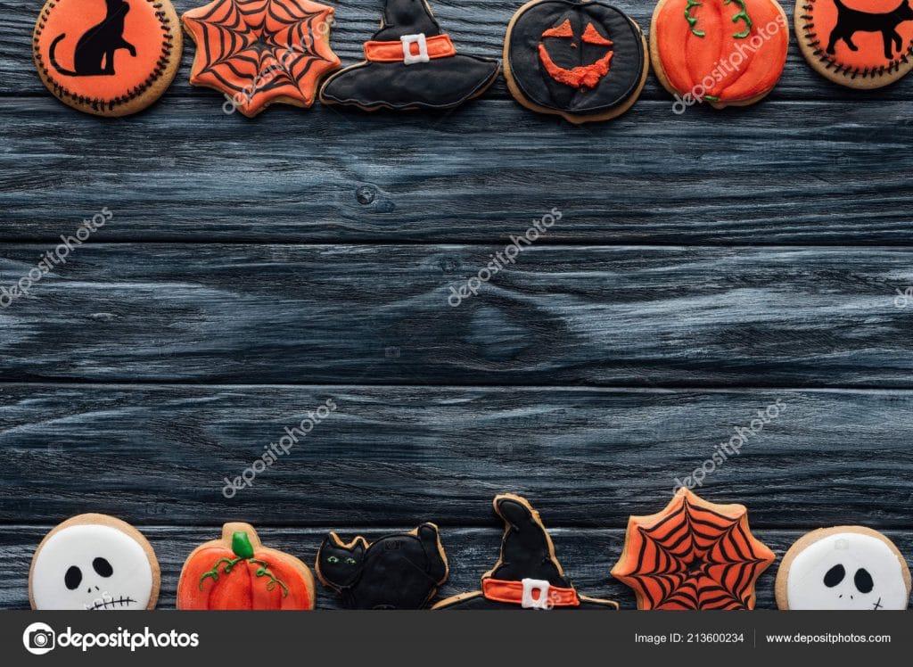 Halloween Stock Photos & Images. Photo Deal: 100 Royalty-free Photos & Vectors - $69! - depositphotos 213600234 stock photo top view arranged halloween homemade