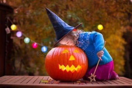 Halloween Stock Photos & Images. Photo Deal: 100 Royalty-free Photos & Vectors - $69! - depositphotos 82633324 stock photo kids carving pumpkin at halloween