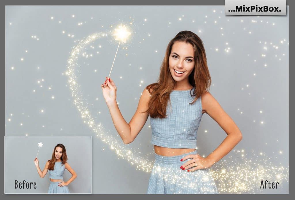 Magic Wand Photo Overlays